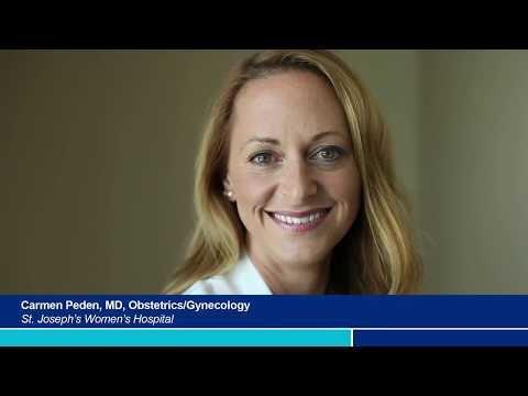 Dr. Peden Discusses Forms of Treatments for Incontinence- St. Joseph's Women's Hospital