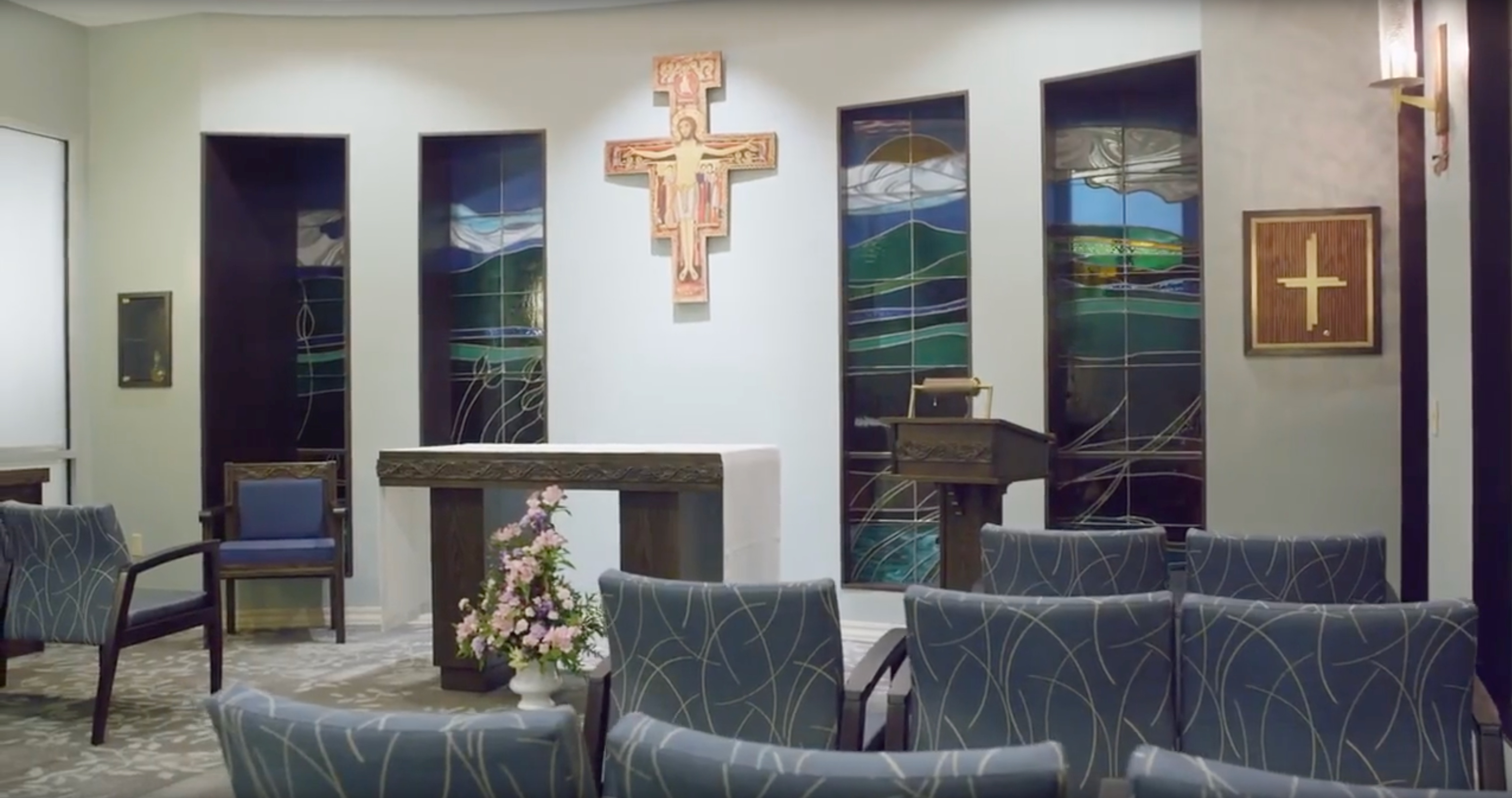 The chapel at St. Joseph's Hospital-North