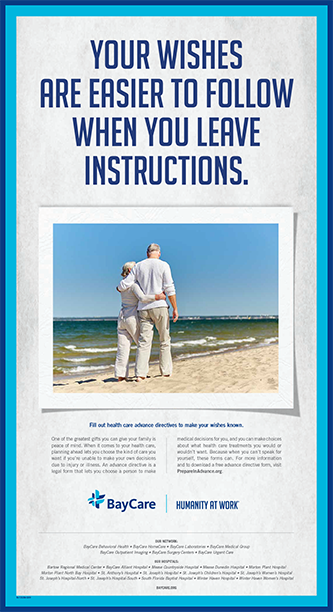 Your Wishes advance directive print ad